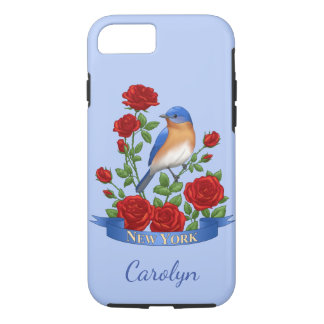 New York State Bird and Flower iPhone 8/7 Case