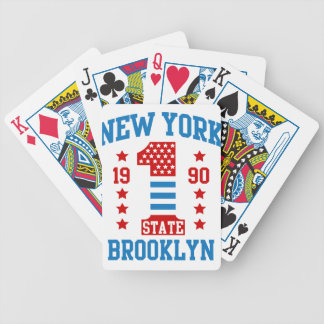 New york state Brooklyn Bicycle Playing Cards