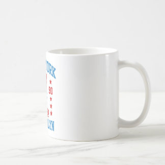 New york state Brooklyn Coffee Mug