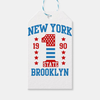 New york state Brooklyn Gift Tags