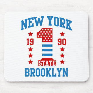 New york state Brooklyn Mouse Pad