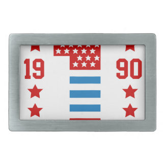 New york state Brooklyn Rectangular Belt Buckle