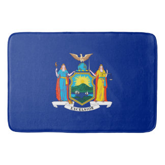 New York State Flag Design Bath Mat