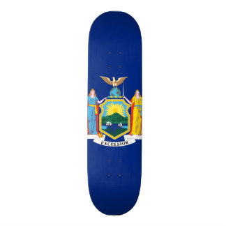 New York State Flag Skate Boards