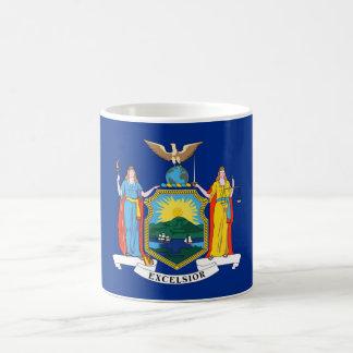 new york state flag united america republic symbol basic white mug