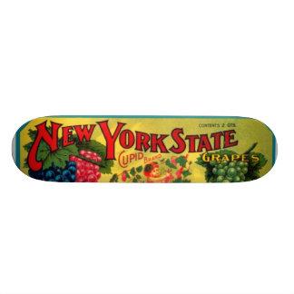 New York State Grapes Skateboard Deck