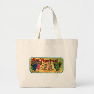 New York State Grapes Bag