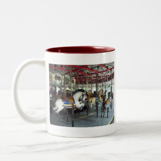 New york state merry go round mug