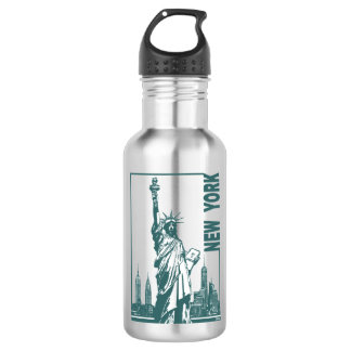 New York-Statue of Liberty 532 Ml Water Bottle