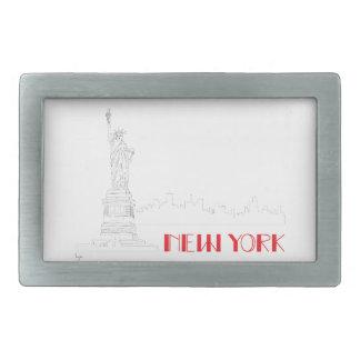New-York, Statue-of-Liberty Cool Belt Buckles