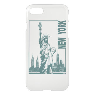 New York-Statue of Liberty iPhone 8/7 Case