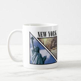 New York Stature of Liberty Taxi Cab Coffee Mug