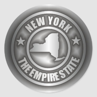 """New York Steel"" Stickers"