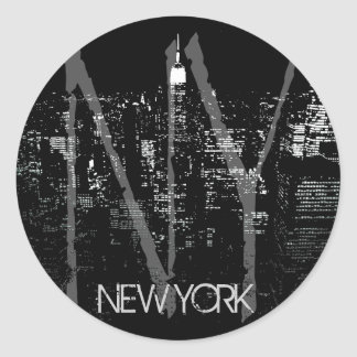 New York Stickers Cool New York Souvenir Stickers
