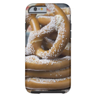 New York street vendor's huge pretzels for sale Tough iPhone 6 Case