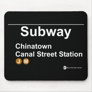 New York Subway Station Mouse Pad