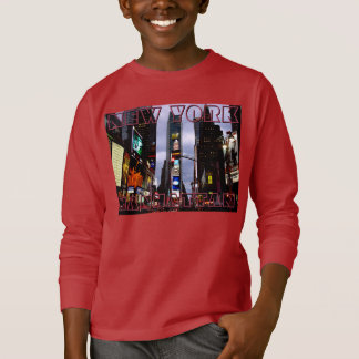 New York T-shirt Kid's Custom NY Souvenir Shirt