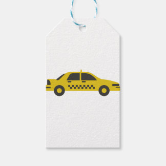 New York Taxi Cab Gift Tags
