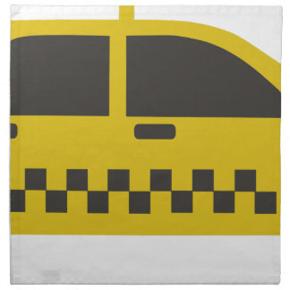 New York Taxi Cab Napkin