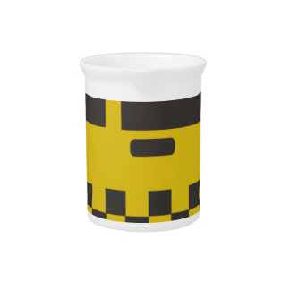 New York Taxi Cab Pitcher