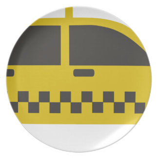 New York Taxi Cab Plate