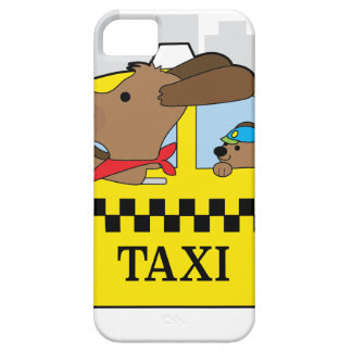 New York Taxi Dog Barely There iPhone 5 Case