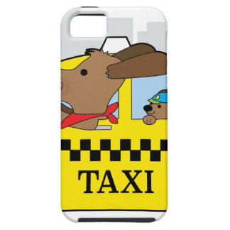 New York Taxi Dog iPhone 5 Case