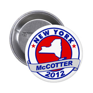 New York Thad McCotter Pin