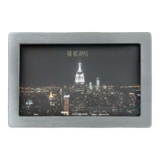 New York The Big Apple Manhattan at Night Gift Belt Buckles