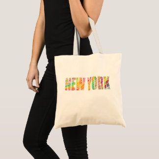 New York, the Colorful City Tote Bag