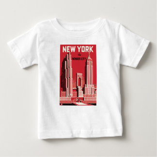 New York The to wonder City Baby T-Shirt