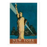 New York: The Wonder City of the World Poster Postcards
