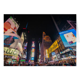 New York Times Square card