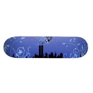 New York / Twin Towers Skateboards