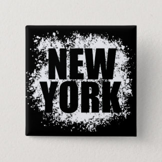 New York Urban Graffiti 15 Cm Square Badge