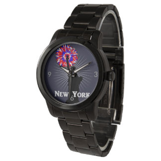 New York USA American Patriotic Statue Of Liberty Watch