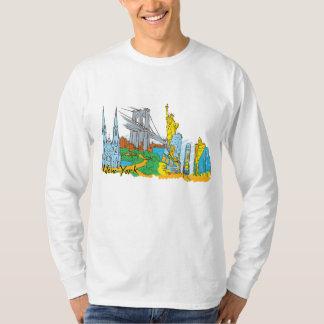 New York, USA Famous City T-Shirt