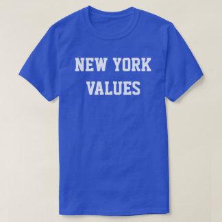 New York Values Tee Shirts