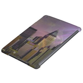 New York violet dream Cover For iPad Air
