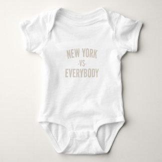 New York Vs Everybody Baby Bodysuit