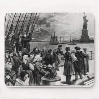 New York - Welcome to the land of freedom Mousepad