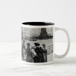 New York - Welcome to the land of freedom Coffee Mug