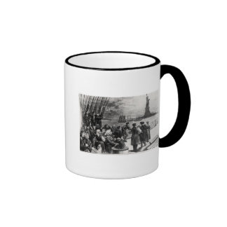 New York - Welcome to the land of freedom Mugs