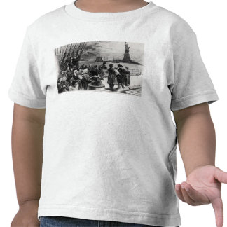 New York - Welcome to the land of freedom T Shirt