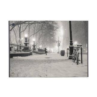New York Winter - Snowy Night - Bryant Park Case For iPad Mini