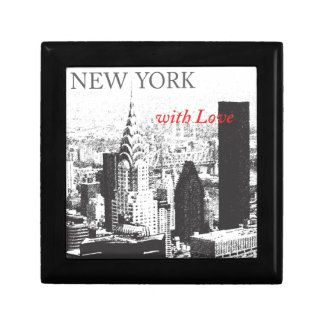 New York with Love Small Square Gift Box