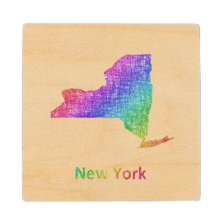 New York Wood Coaster