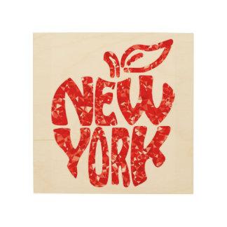NEW YORK, WOOD WALL DECOR