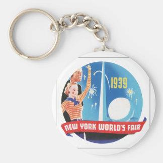 New York World's Fair 1939 Keychain
