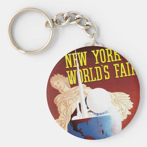 New York World's Fair (Globe) Key Chains